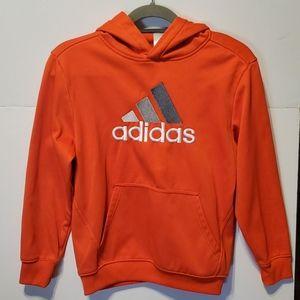 adidas Embroidered Logo, 3 Striped Hoodie - Sz M